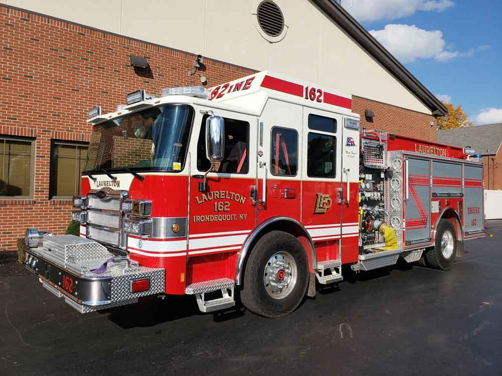Laurelton Fire Department E162 Fire Truck