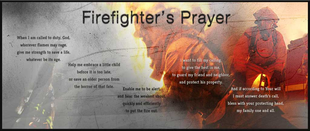 Laurelton Fire Department Firefighter's Prayer
