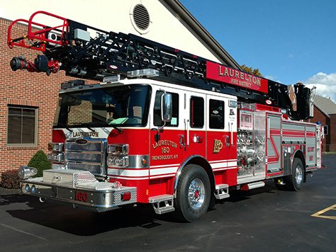 Laurelton Fire Department Q160 Fire Truck