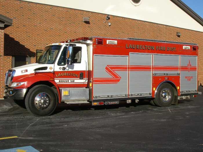 Laurelton Fire Department R168 Rescue Truck